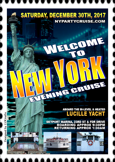 Welcome To New York Evening Yacht Cruise