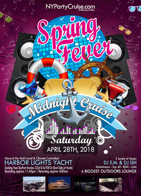 Spring Fever Midnight Yacht Cruise