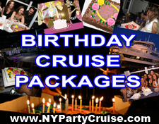 Birthday Packages - Celebrate your birthday on a Midnight Cruise - NYParty Cruise - www.nypartycruise.com