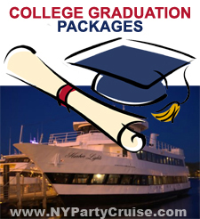 College Graduation Cruises - Celebrate your College Graduation on a Midnight Cruise - www.nypartycruise.com - NYPartyCruise