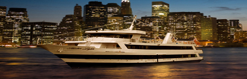 Party on our Midnight Cruises aboard the Harbor Lights Yacht